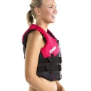 nylon vest women hot pink 1.jpg